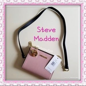 New! 👛Steve Madden👛crossbody pink purse